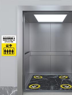Lift Signage - Covid 19