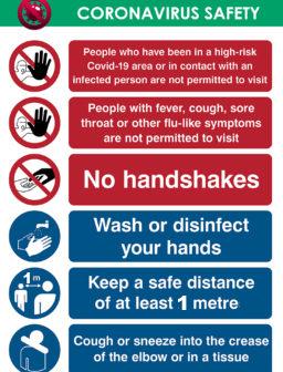 Coronavirus Covid 19 Signs